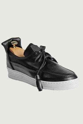 Terapi Men Günlük Erkek Ayakkabı Kalın Taban 7Y-1600020-002 Siyah