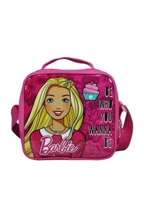 Barbie Kız Çocuk Pembe Tek Bölmeli  Beslenme Çanta - 96516