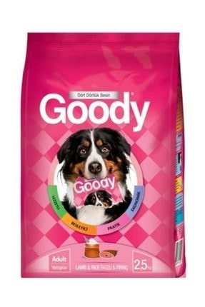 Goody Kuzu Etli Ve Pirinçli Yetişkin Köpek Maması 2,5 Kg