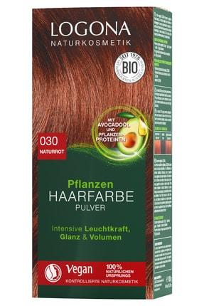 Logona Bitkisel Toz Saç Boyası - 030 Doğal Kızıl 100G