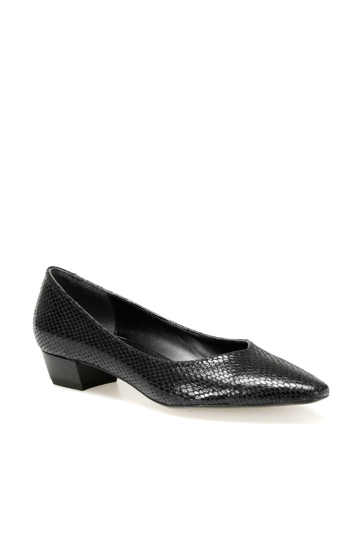 Miss F DW19075Y Siyah Kadın Gova Ayakkabı 100439742 1