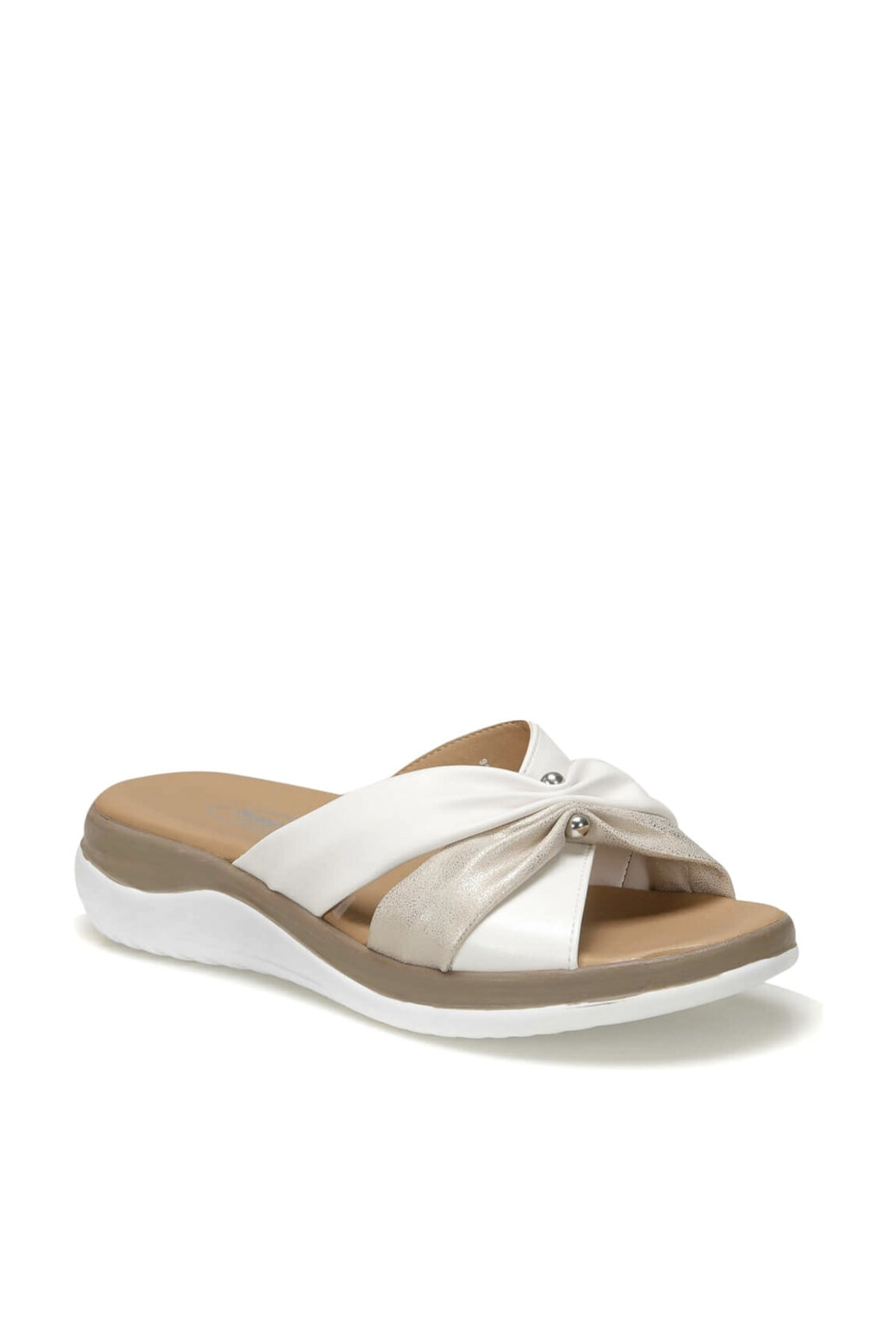 Polaris 91.150933.Z Altın Kadın Sandalet 100379915 2