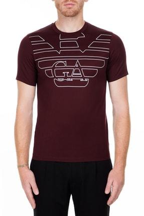 Emporio Armani Bordo Erkek T-Shirt 6G1TP5 1JTUZ F332