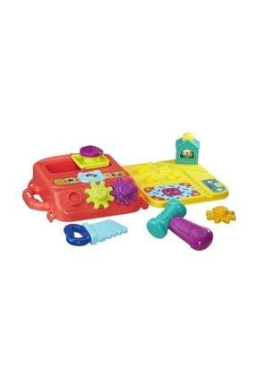 Playskool Çok Renkli Alet Çantam Kız ve Erkek Bebek İçin Eğitici Oyuncak 5010994946951