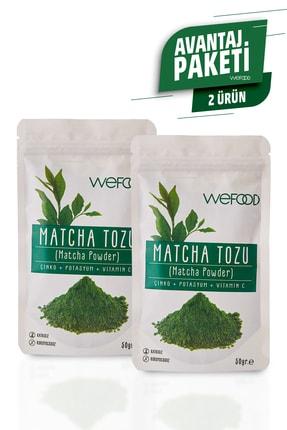 Wefood Matcha Tozu 50 gr 2'li