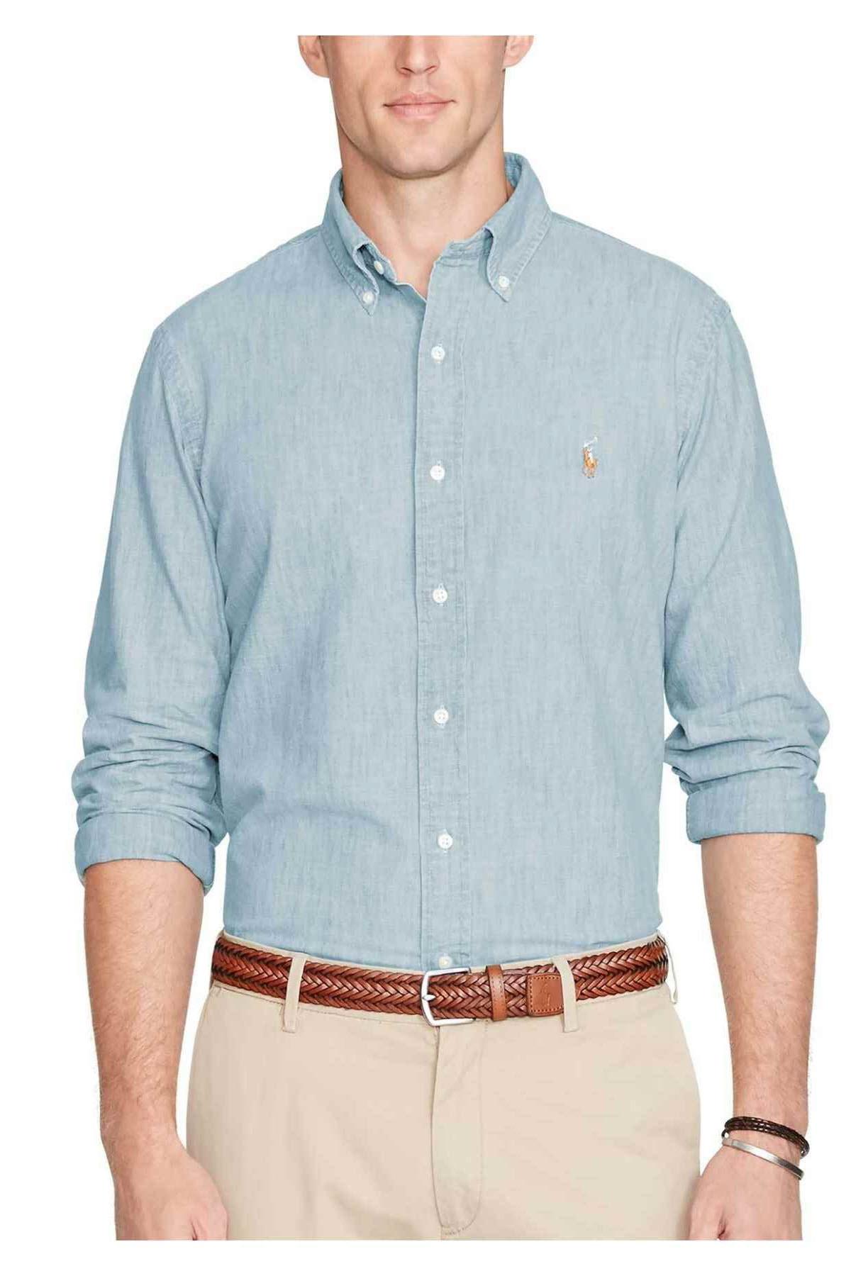 Polo Ralph Lauren Erkek Denim Gömlek 3830056452148 1