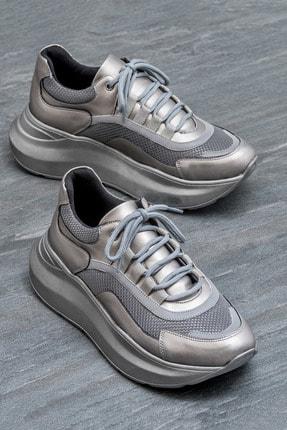 Elle Shoes ADONCIA Gümüş Kadın Sneaker