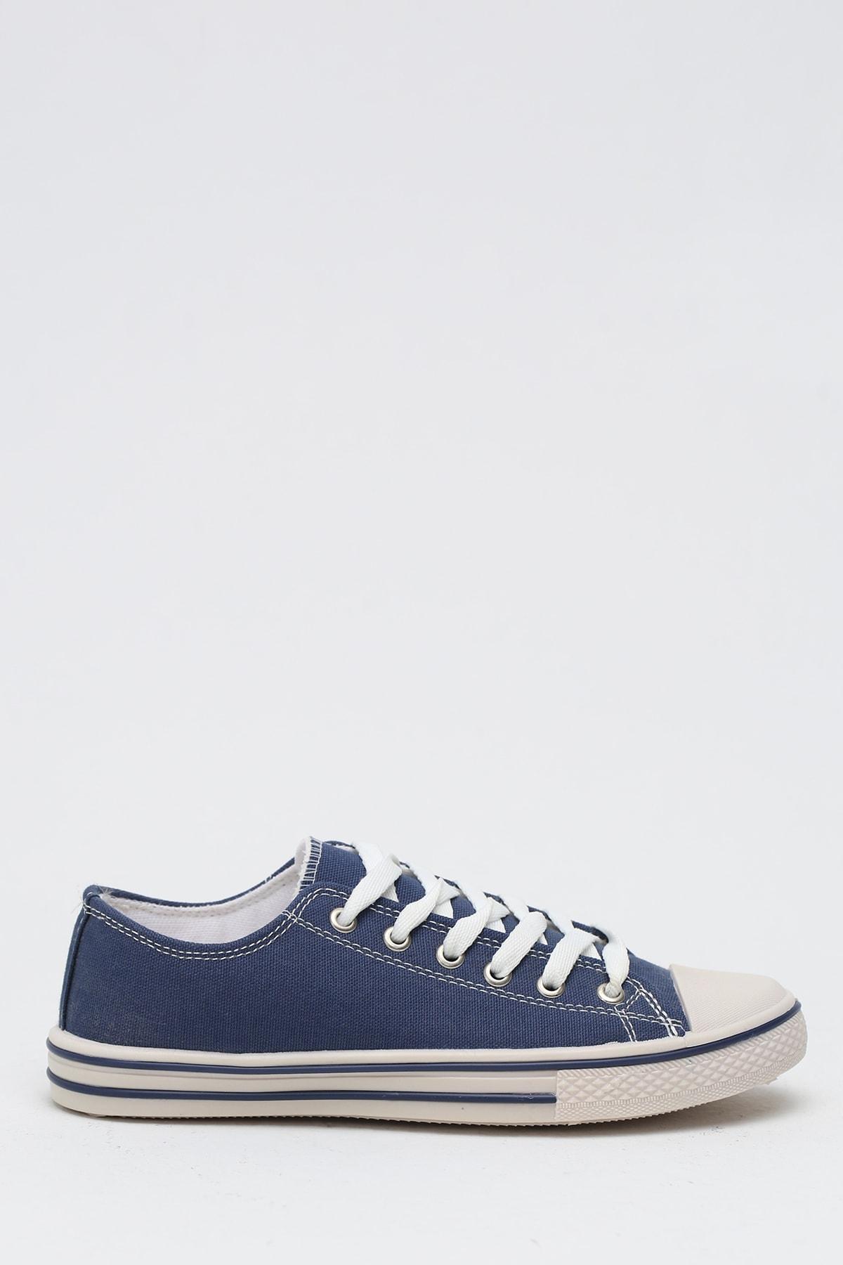 Ayakkabı Modası K.Lacivert Kadın Ayakkabı M9999-19-100165R 1