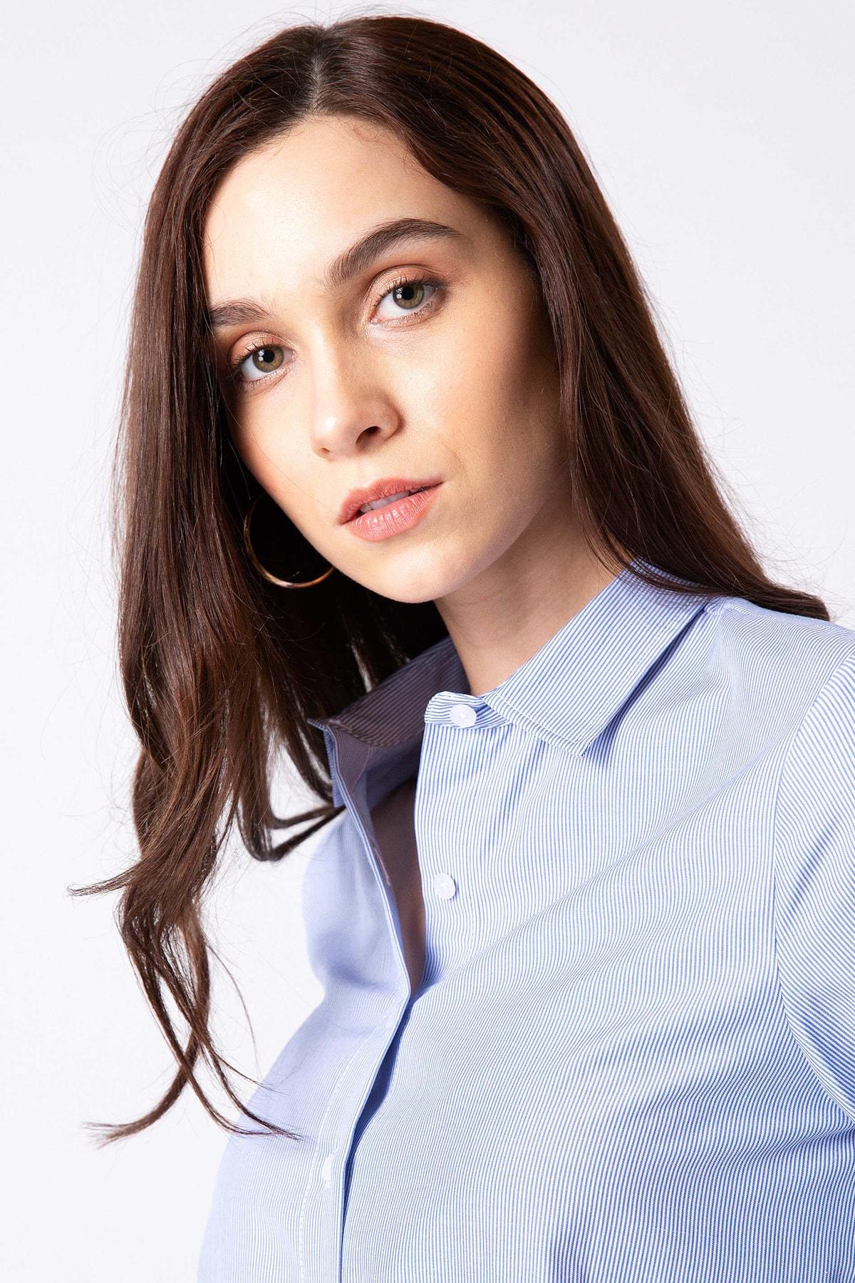 Pierre Cardin Kadın Gömlek G022SZ004.000.770786 1