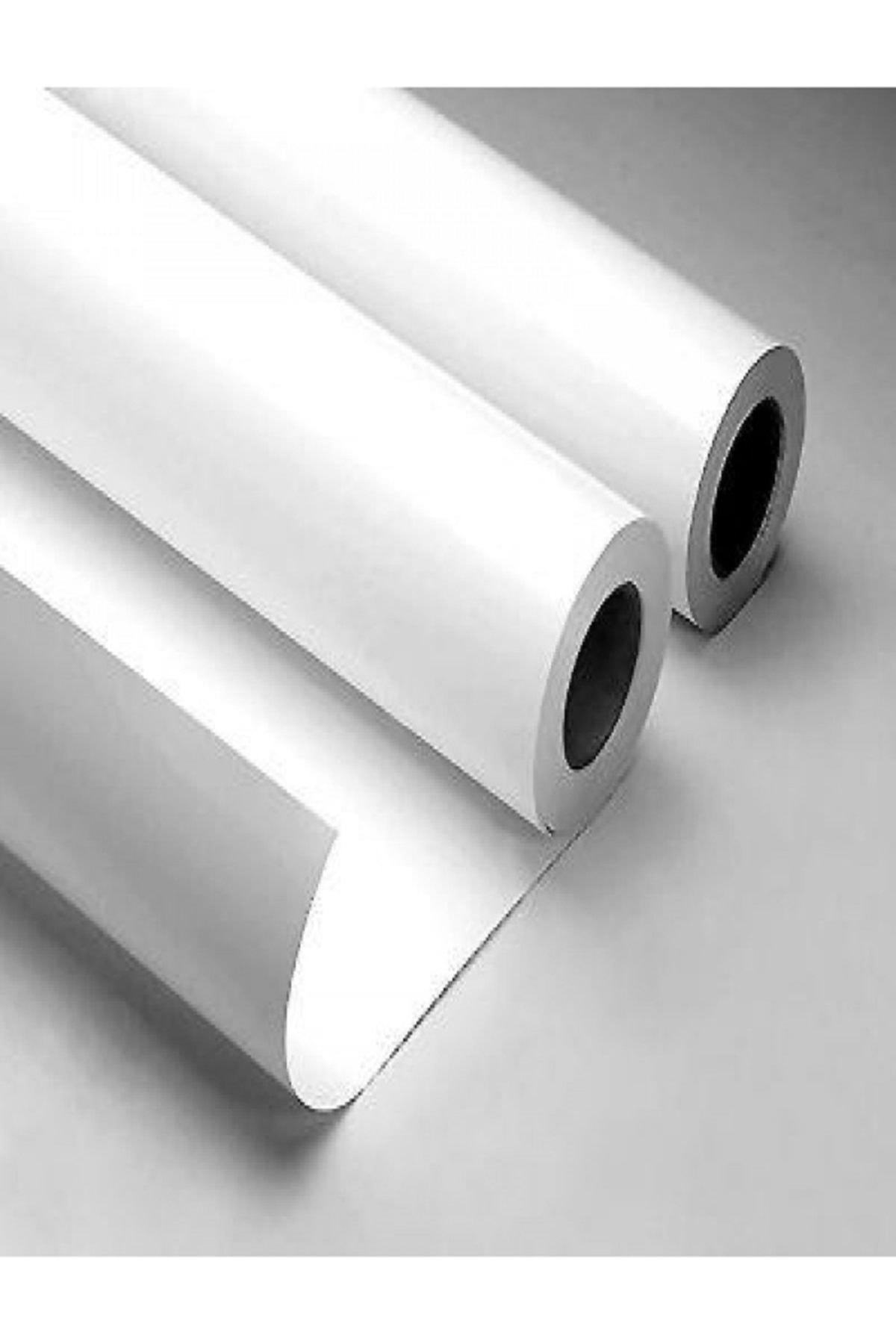 Ecce Mat  Beyaz Yapışkanlı Folyo  75 cm  X 9 mt 1
