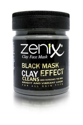 Zenix Siyah Kil Yüz Maskesi 190 gr