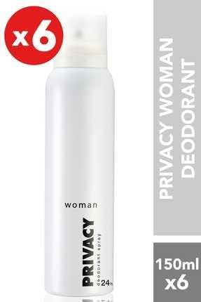 Privacy Kadın Deodorant 150ml x 6