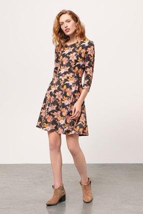 Mudo Kadın Multi Renk Floral Kloş Mini Elbise 357703