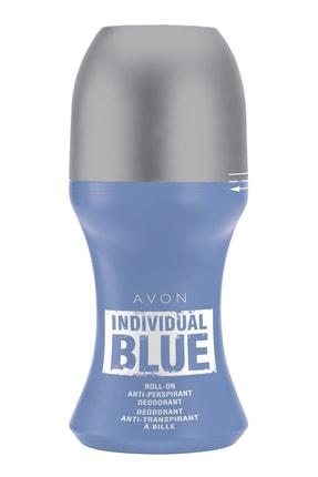 AVON Individual Blue Antiperspirant Erkek Roll On Deodorant - 50 ml 8681298947110