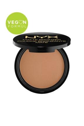 NYX Professional Makeup Mat Bronzer Orta Ton - Matte Bronzer Medium 59 g 800897809072