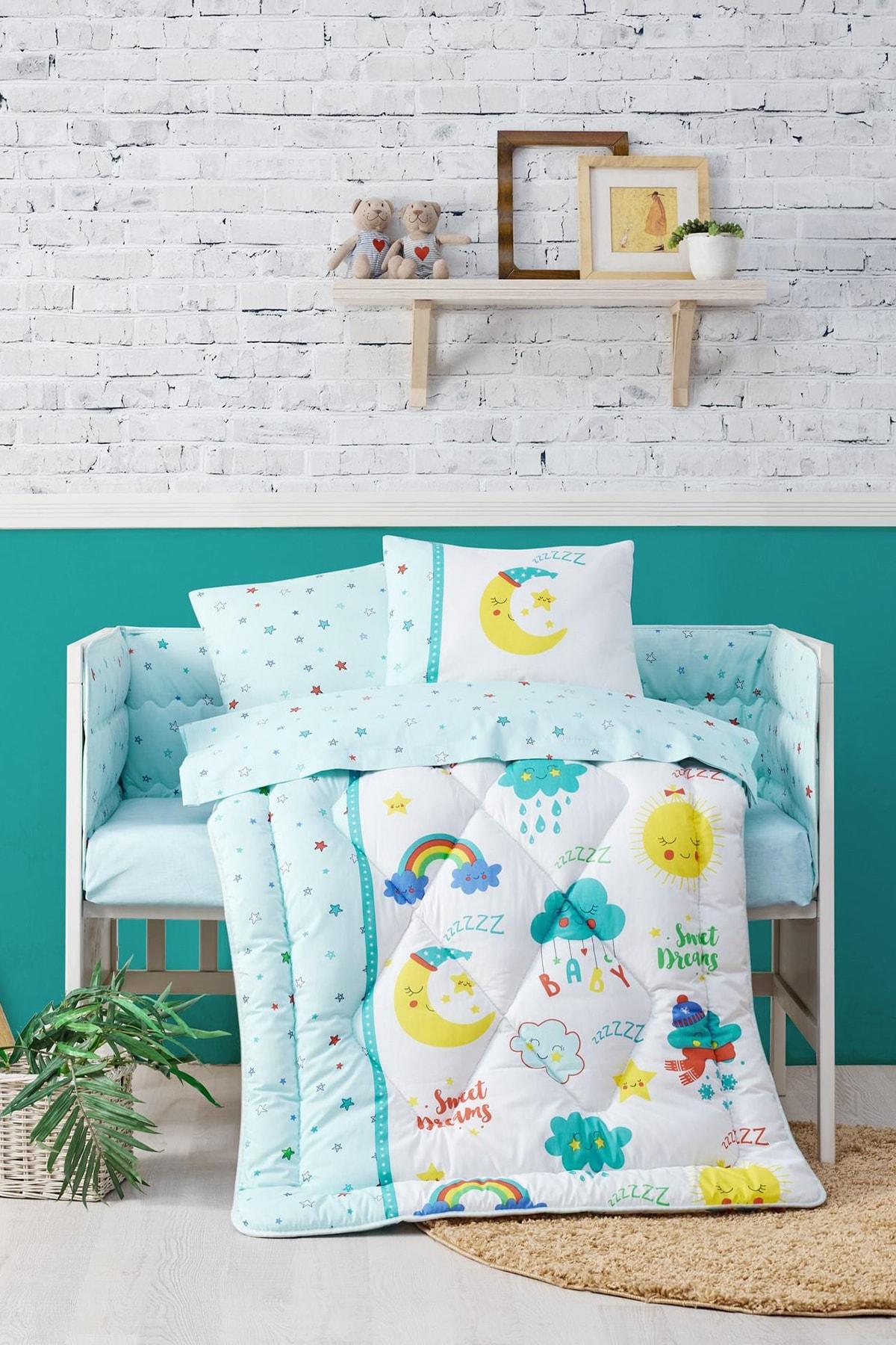 Cotton Box Bebek Uyku Seti Tatlı Rüyalar Mint