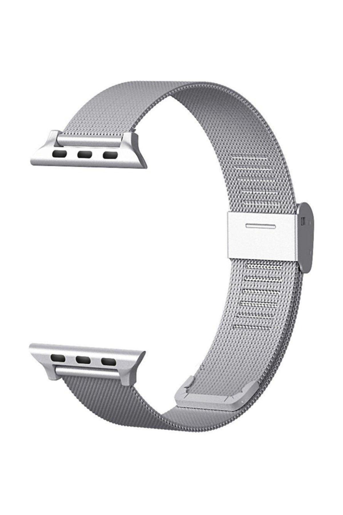 Microsonic Watch 3 42mm Milanese Loop Kordon Gümüş 1