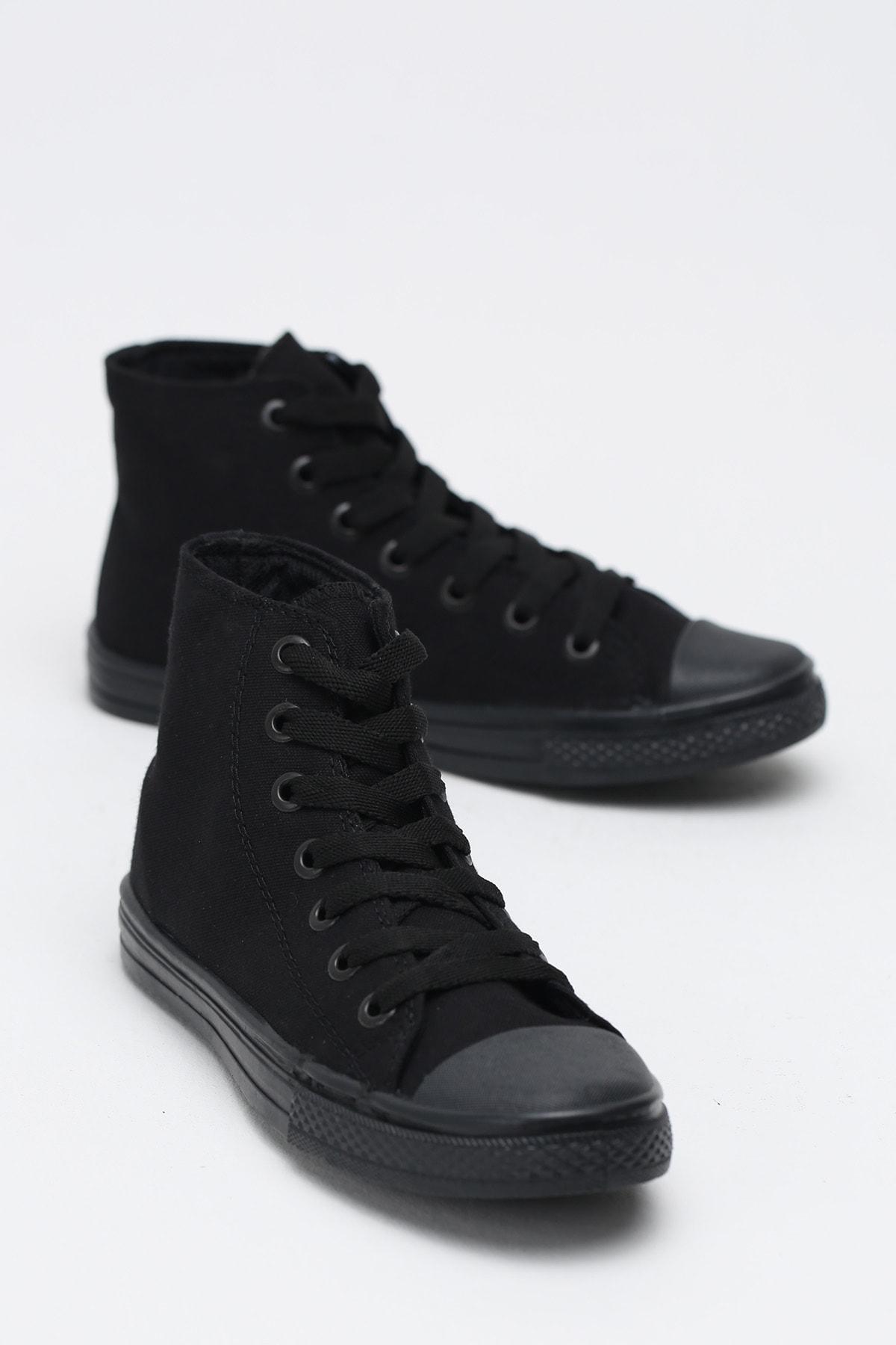 Ayakkabı Modası Siyah Kadın Ayakkabı M1003-19-110080R 1
