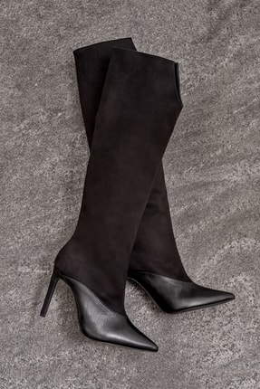 Elle Shoes MAGOLA Kadın Siyah Çizme