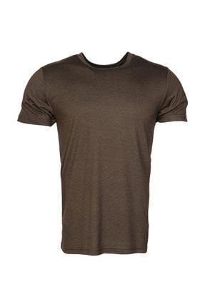 HUMMEL HMLCARLOS  T-SHIRT S/S TE Koyu Haki Erkek T-Shirt 100579834