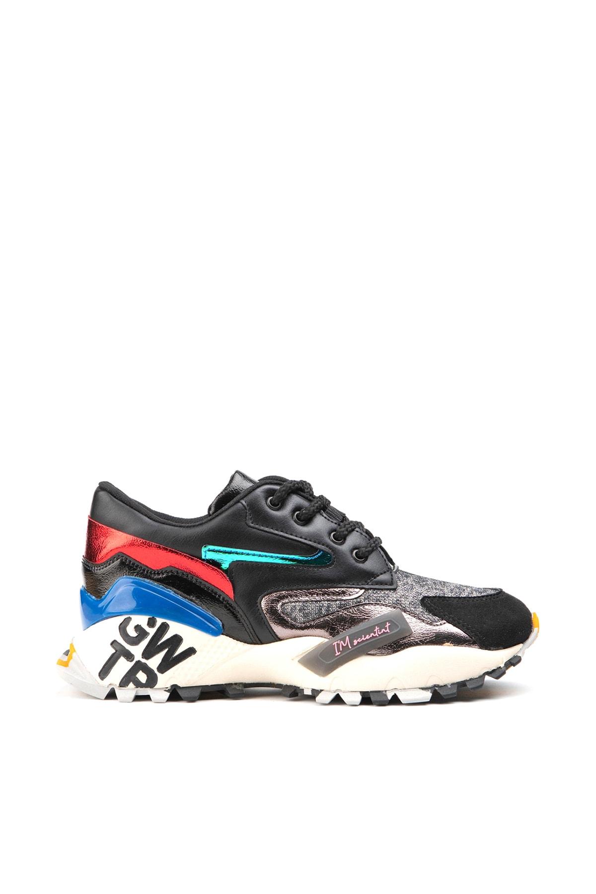 Jeep Siyah Kadın Spor Ayakkabı 9K2SAJ0140 1
