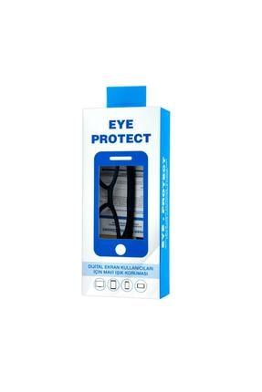Eye Protect Siyah Ekran Koruyucu Gözlük Çerçeveli