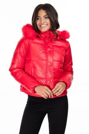 Vero Moda Kadın Kırmızı Mont 10218378