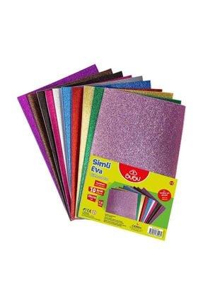 Bubu Eva Simli Yapışkanlı A4 10 Renk