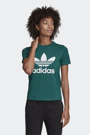 adidas Kadın Originals T-shirt - Trefoil Tee - ED7496