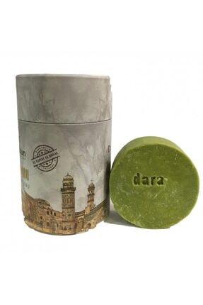 Mardin Sabun Dara %100 Doğal El Yapımı Yeşil Bıttım (menengiç) Sabunu 500 Gr - Rulo Kutu
