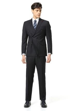 D'S Damat Erkek Lacivert DS DAMAT TAKIM ELBİSE (Slim Fit) 3HF05JB08577M_101