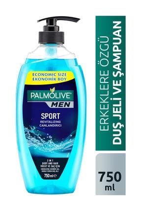 Palmolive Men Sport 3'ü 1 Arada Canlandırıcı Erkek Duş Jeli 750 ml
