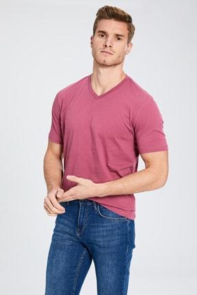 LC Waikiki Erkek Gülkurusu T-shirt 0S1781Z8