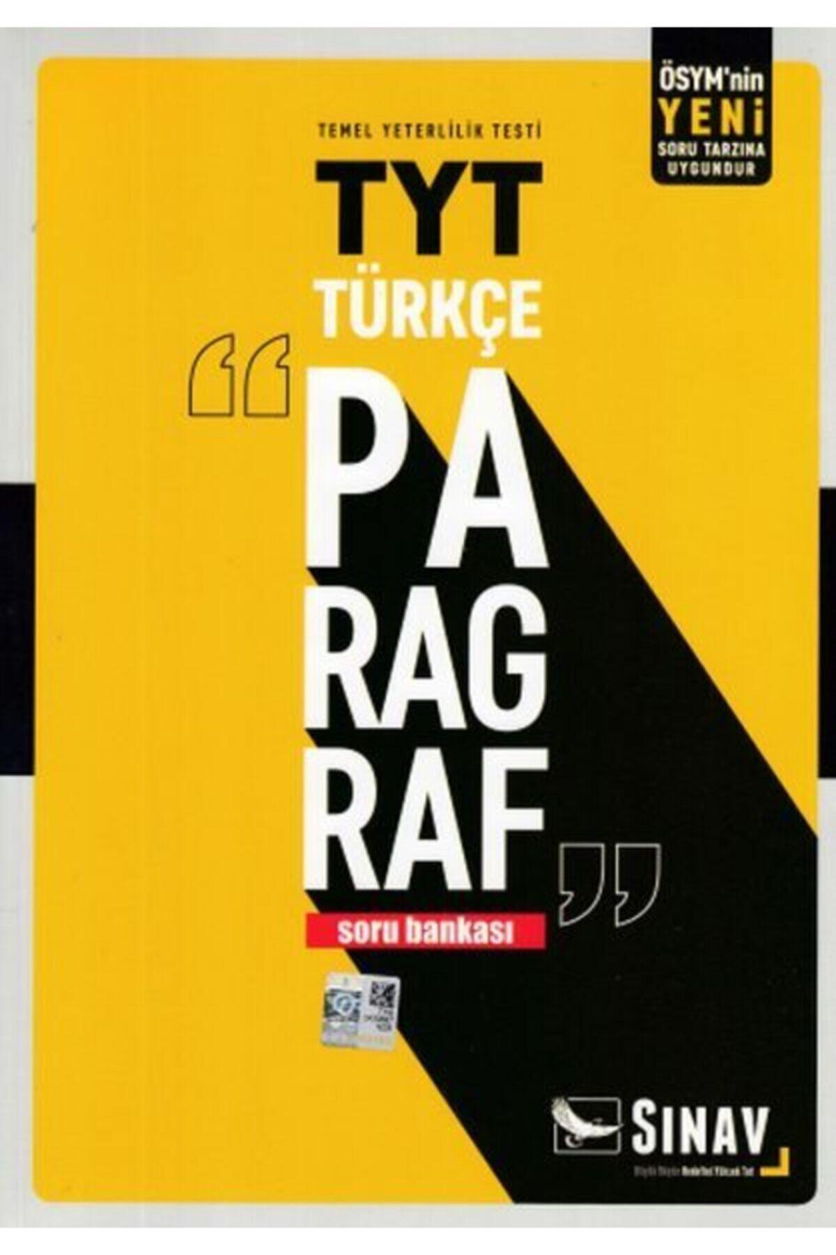 Sınav Dergisi Yayınları Sınav Tyt Türkçe Paragraf Soru Bankası Yeni 1