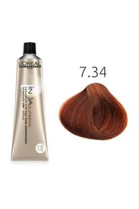 L'oreal Professionnel Kumral Dore 7.34 Bakır Amonyaksız Saç Boyası 60 ml