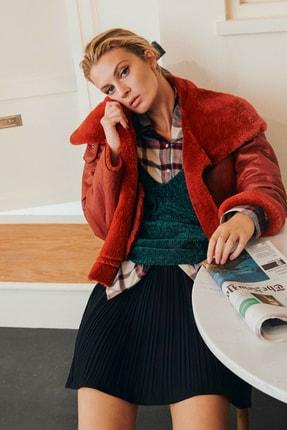 Koton Skirtly Yours Styled By Melis Agazat - Pileli Mini Etek