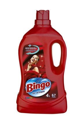 Bingo Matik Renklilere Özel Bakım Serisi Sıvı Çamaşır Deterjanı 4 lt