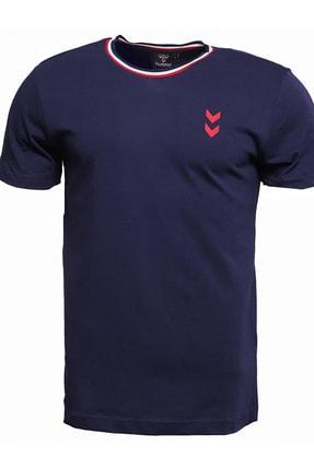 HUMMEL Erkek T-Shirt - Audomaro Kisa Kollu Tişört