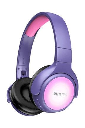 Philips TAKH402PK/00 Kids Bluetooth Kafa Bantlı Kulaklık Çocuk Kulaklığı Pembe/Mor