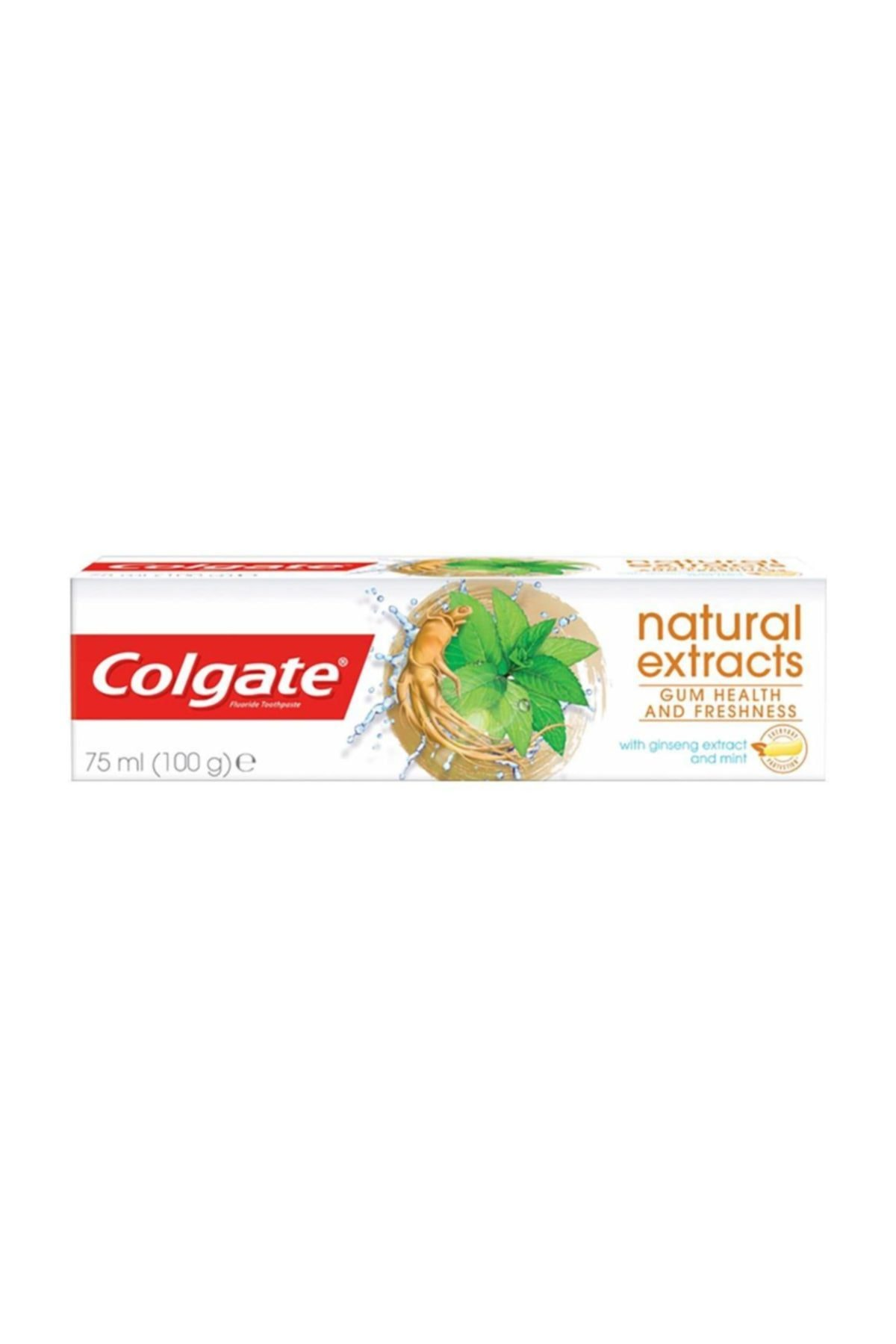 Colgate Natural Extracts Ginseng & Mint Toothpaste Diş Macunu 75 ml 1
