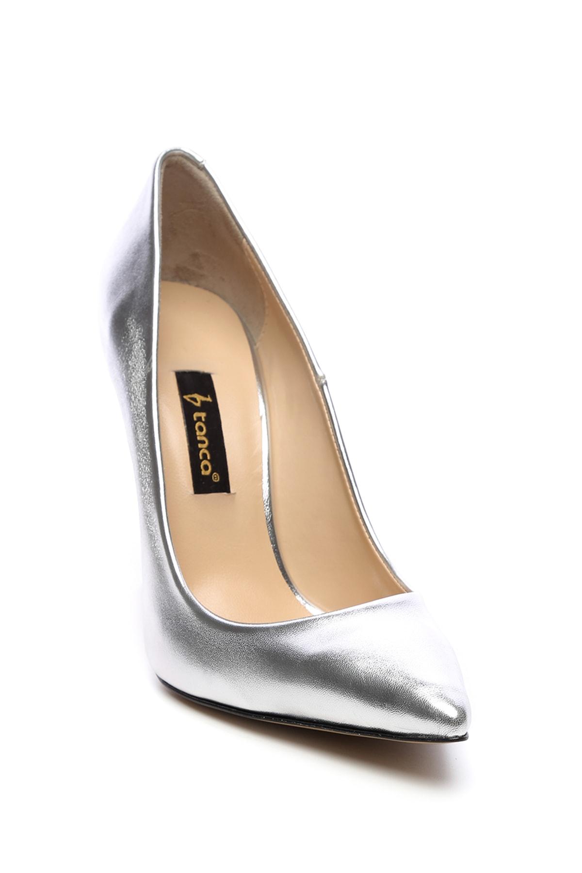 KEMAL TANCA Gri Kadın Vegan Klasik Topuklu Ayakkabı 22 51191 BN AYK Y19 2