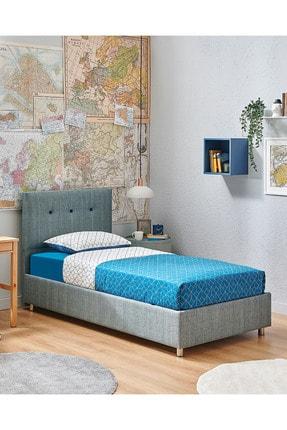 Yataş Bedding Nova Sandıklı Yatak Baza Başlık Genç Seti - Multi Yatak - Tek Kişilik - Turkuaz