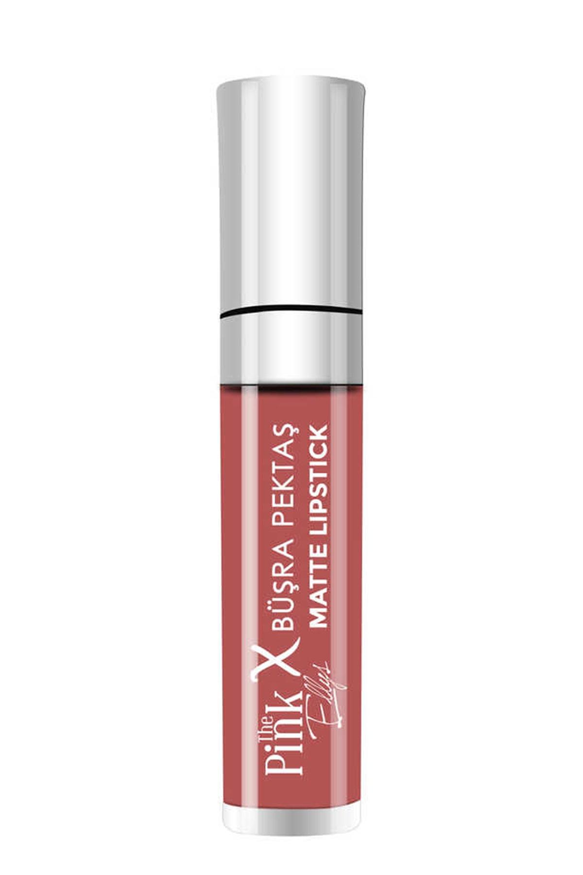 The Pink Ellys x Büşra Pektaş Matte Lipstick 2 8682340192670
