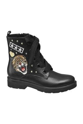 Catwalk Kadın Siyah Bot Ayakkabı