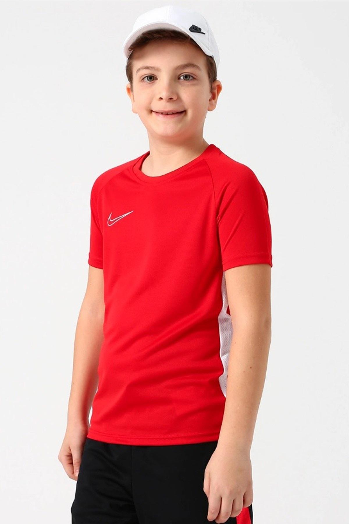 Nike Kids Kırmızı Dry Acdmy Çocuk Spor T-Shirt