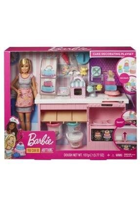 Barbie Bebek Pasta Dükkanı Oyun Seti
