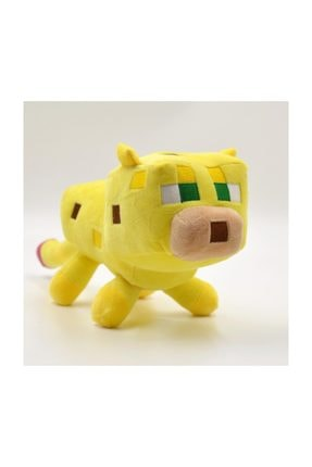 MINECRAFT Minecraft 24 Cm Peluş Bön Bön Bakan Sarı Ocelot