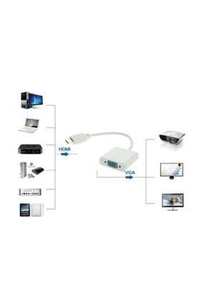 MAXGO Hdmi To Vga Kablo Çevirici Dönüştürücü Görüntü Hdmı -2094