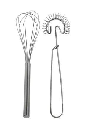 IKEA Idealisk Ikili Metal Çırpıcı Seti