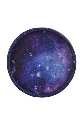 Ambalaj Hikayeleri Silindir Karton Kutu 5 Adet Galaksi Desenli